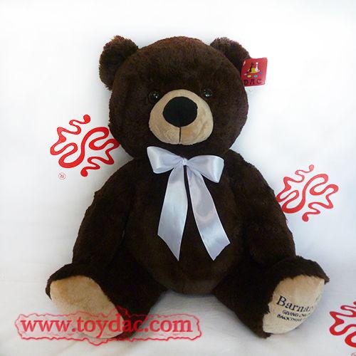 Stuffed Bow Big Teddy Bear