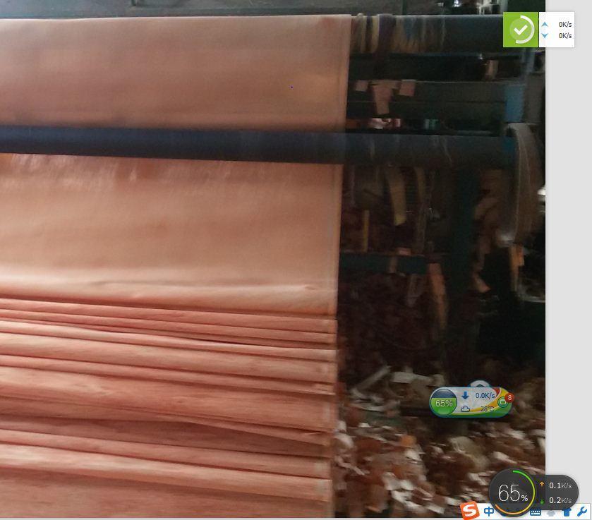 1250*2500*0.3mm Engineered Keruing / Gurjan Wood Veneer