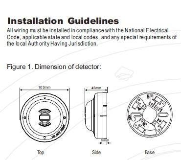 UV Flame Alarm Sensor with Relay Output (ES-CF6002)
