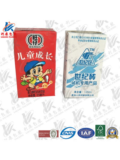 Aseptic Packaging Material for Juice and Milk