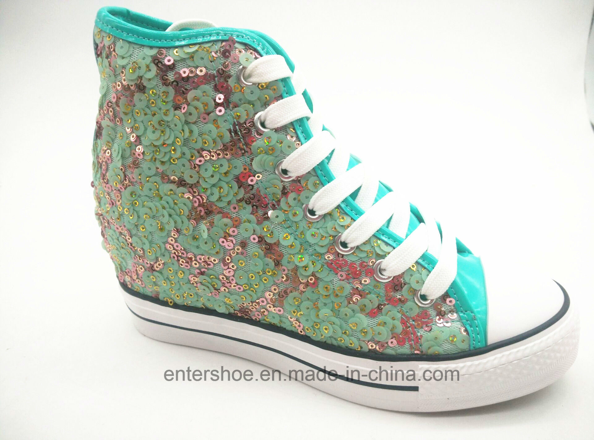 Akua Sequins Women in Elevator Shoes with Rubber Sole (ET-LD160342W)