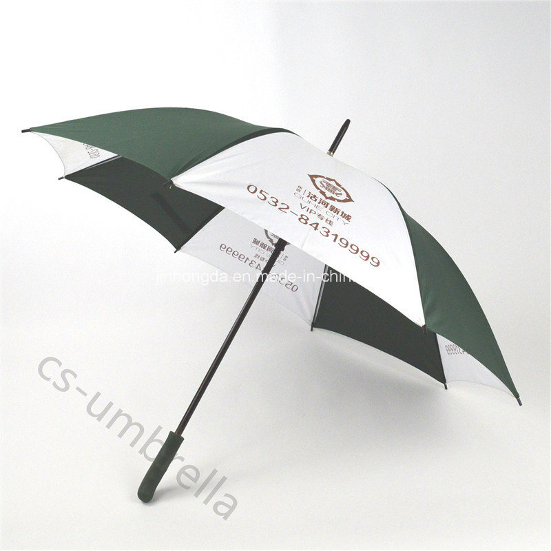 "27"" Double Rib Golf Advertising Promotion Umbrella (YSS0102)"