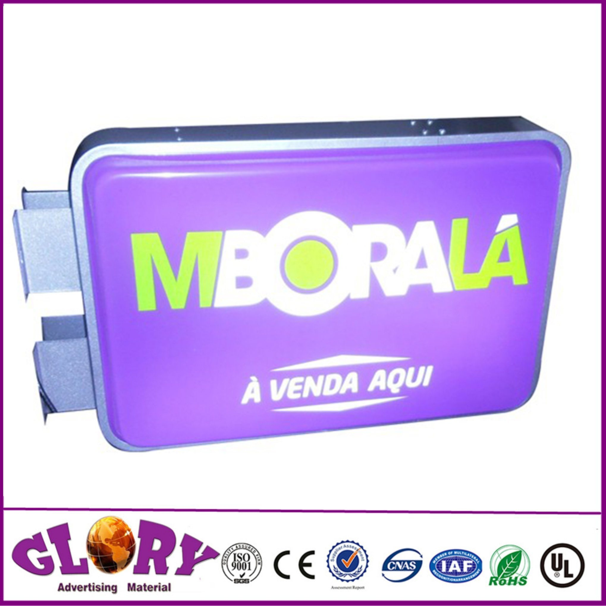 LED Acrylic Light Box Thermoformed Advertising Shop Display