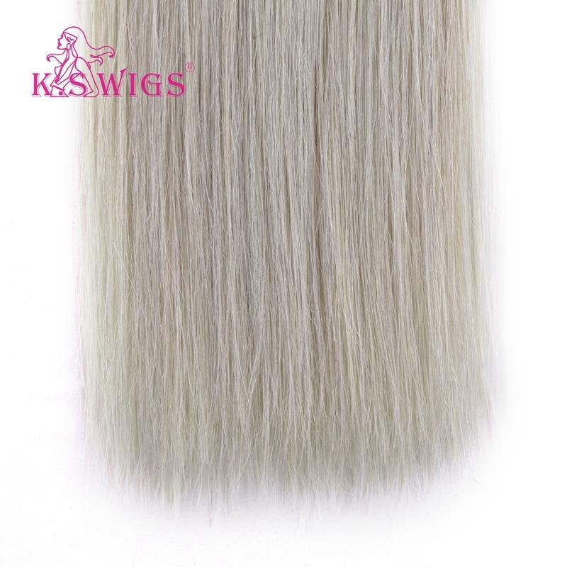 K. S Wigs Top Grade Virgin Remy Hair Tape Hair