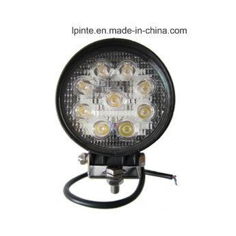 27W LED Forklift Work Light 10-80VDC