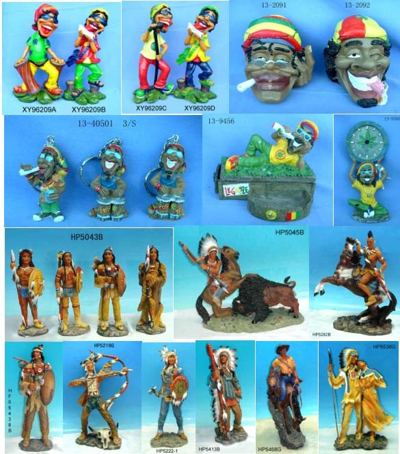 China jamaica and indian figurine china arts crafts for Jamaican arts and crafts for sale
