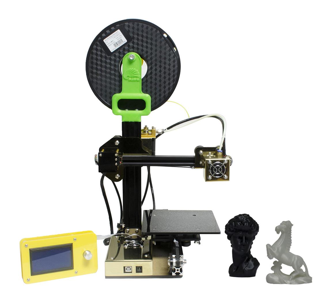 Rise High Precision Aluminum Digital Fdm Desktop DIY 3D Printing