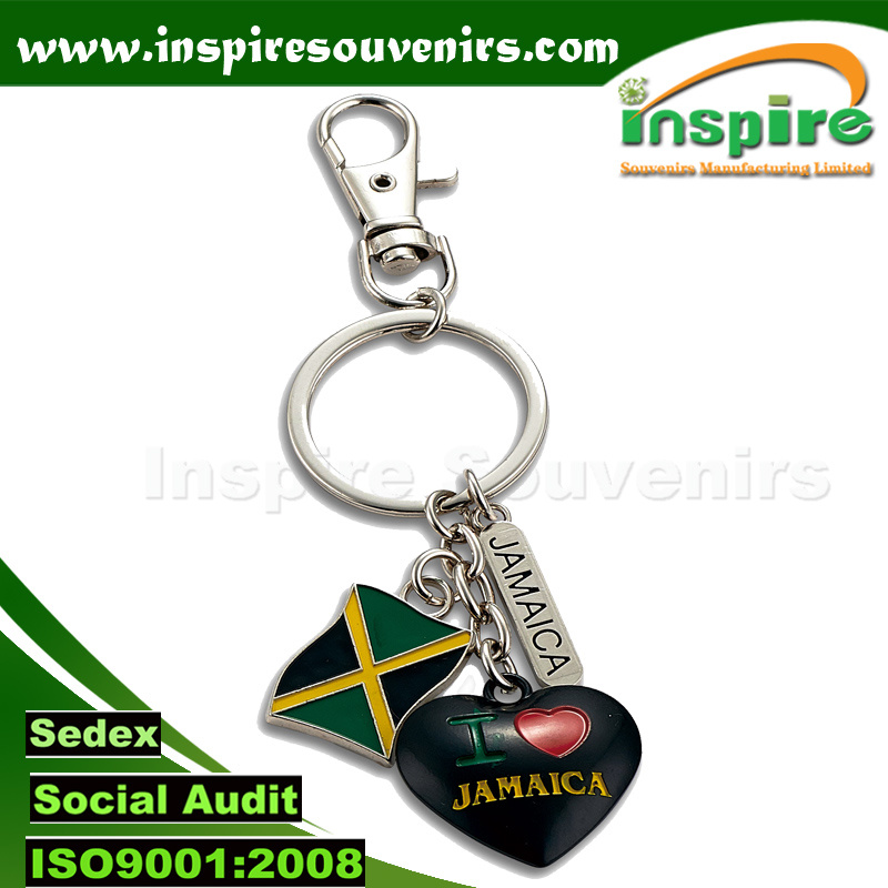 Attractive Metal Charms Key Chain for Souvenirs (SK846)