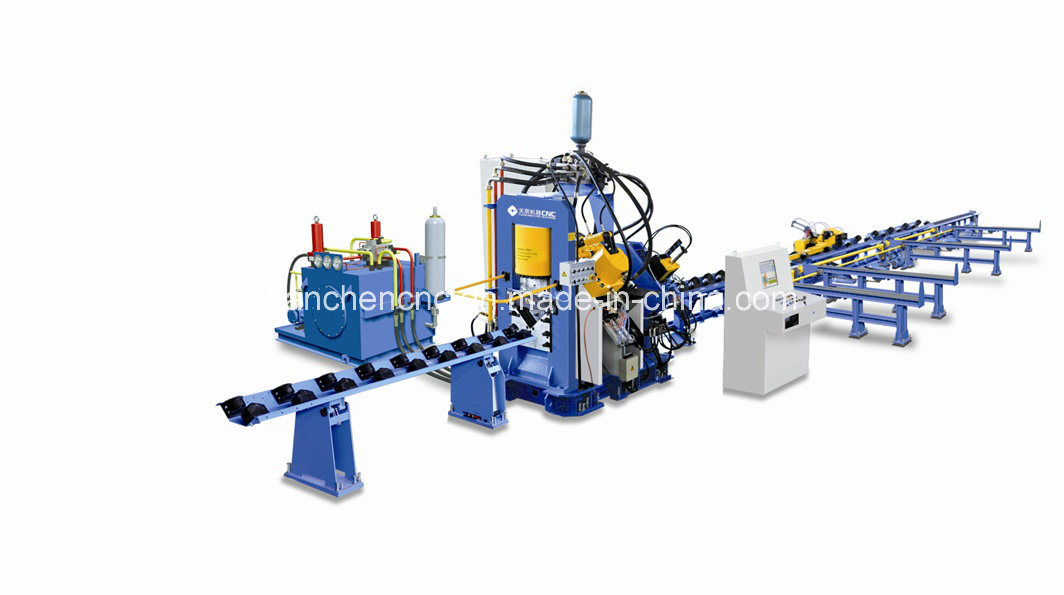 CNC Angle Line for Tower Manufacturing Model Bl1412