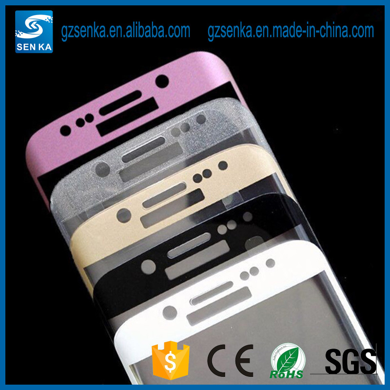 3D Full Cover Tempered Glass Screen Protector for Samsung S6 Edge Plus