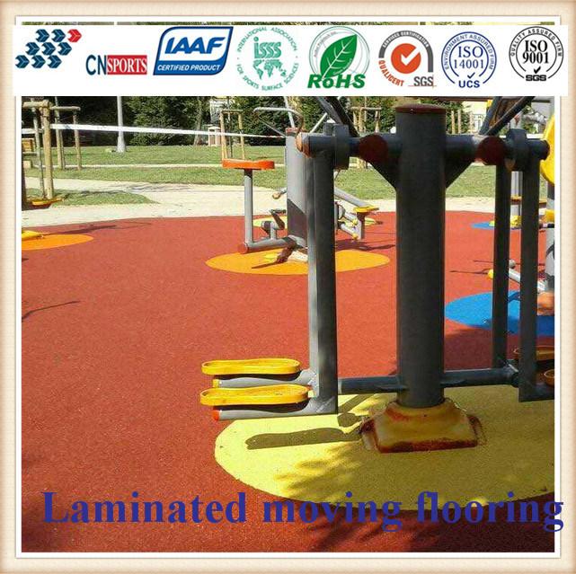 Cn-S06 EPDM Rubber Granules Flooring for Kids Playground