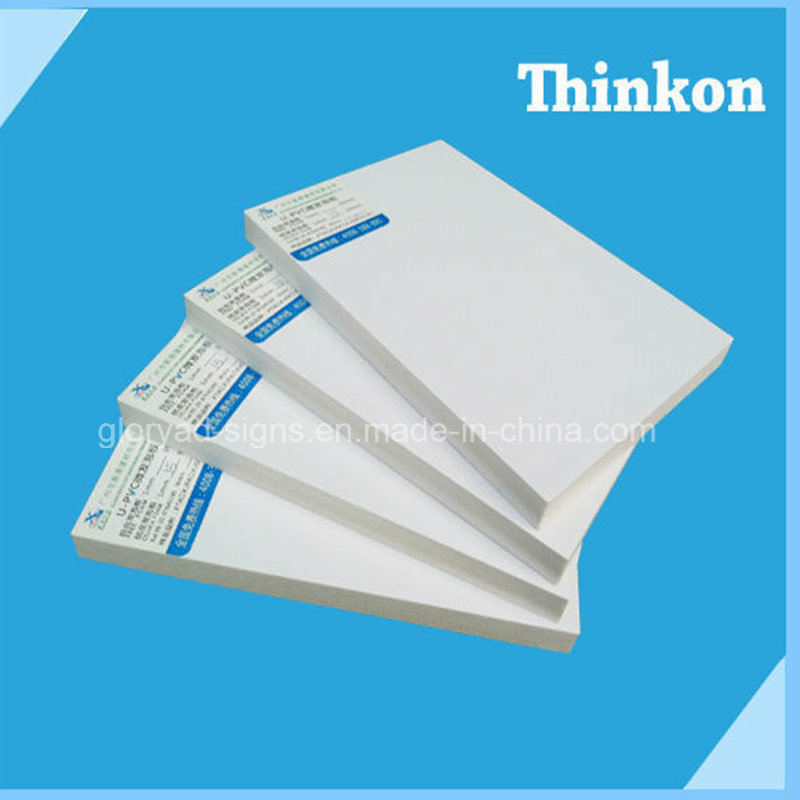 High Density White PVC Sheet for Indoor and Outdoor