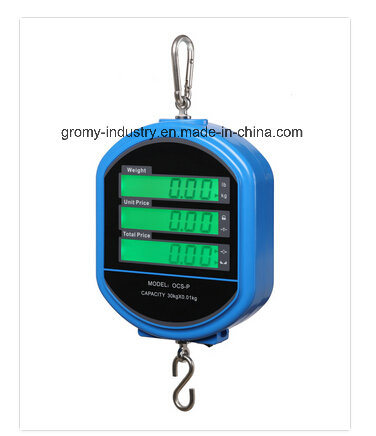 Digital Hanging Price Computing Crane Scale with Pan Ocs-P