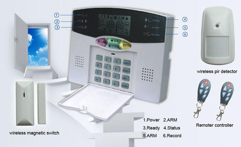 Monitronics Home Security Systems and Burglar Alarm Monitoring