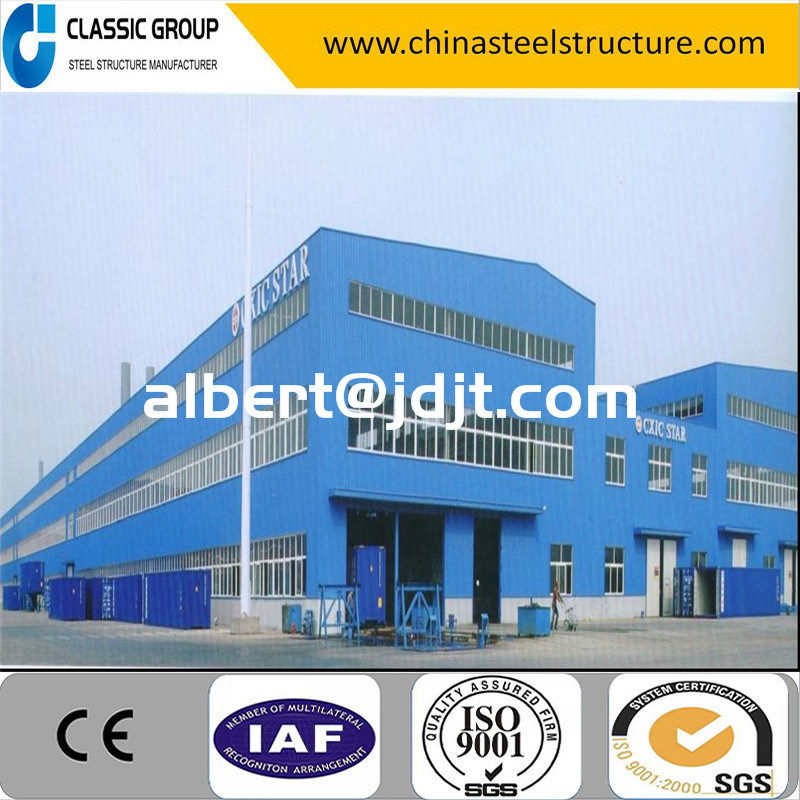 Economic Standard Factory Direct Steel Structure Warehouse/Workshop Building Price
