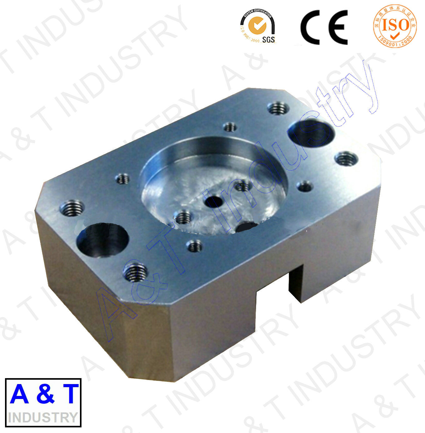 CNC Customized Aluminum/Brass/Stainless Steel/ Lathe Machine Part Turning Parts
