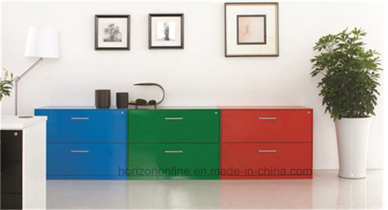Three Drawers Lateral Filing Cabinet Custom Office Furniture