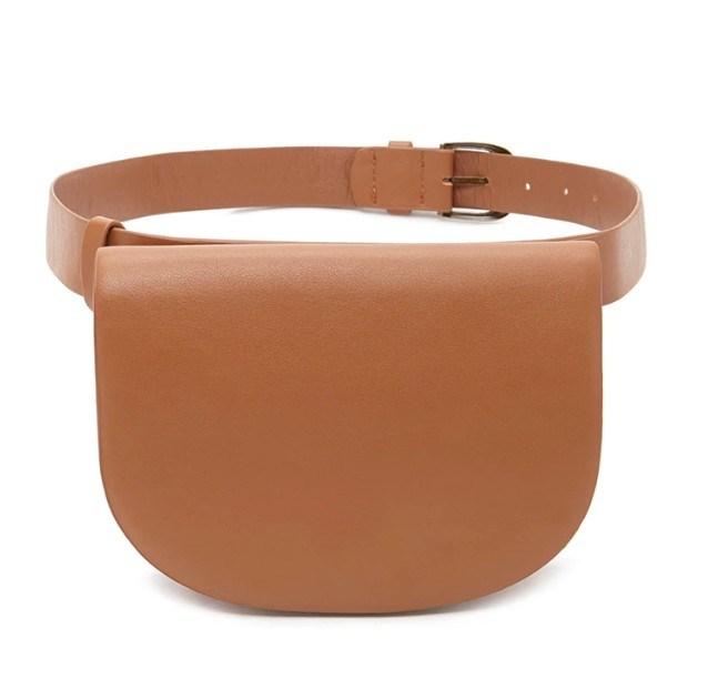 Water Base-Faux Leather PU Vintage Fanny Pack Designer Handbag (LDB-015)