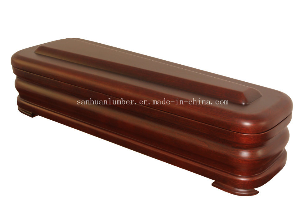 Spanish Style-Wood Coffin (5500S-N) /Cremation Urn