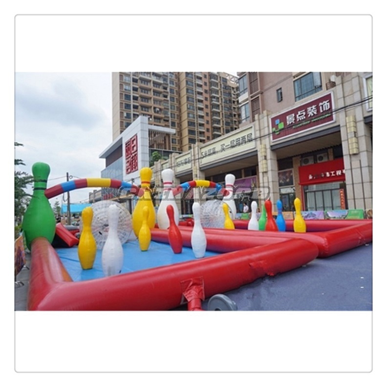 2016 New Popular Outdoor Sport Game Inflatable Human Bowling Ball