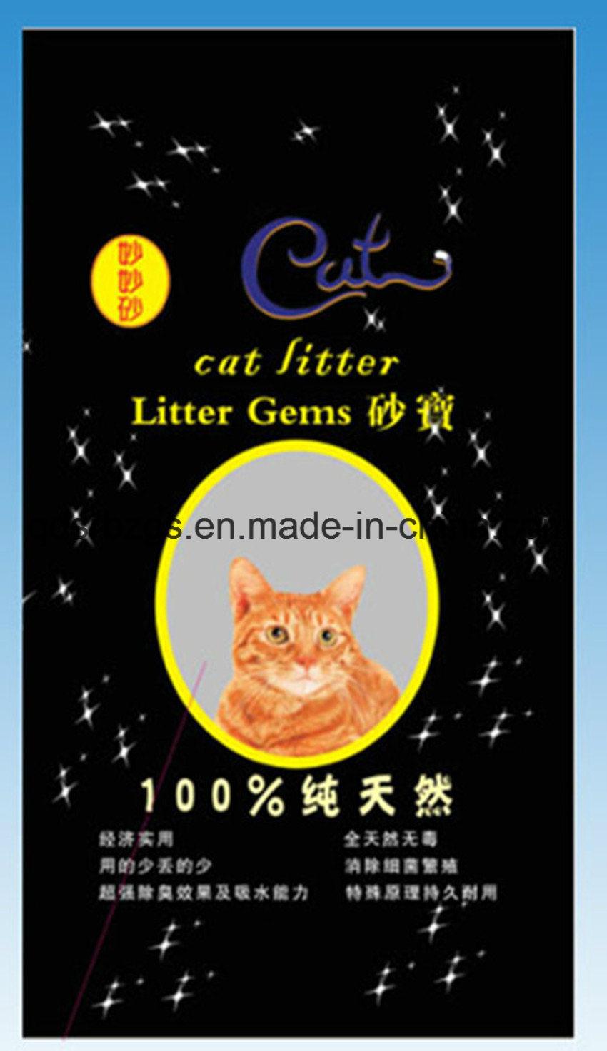 New Material Plastic Packaging PP Woven Cat Litter Bag / Sack