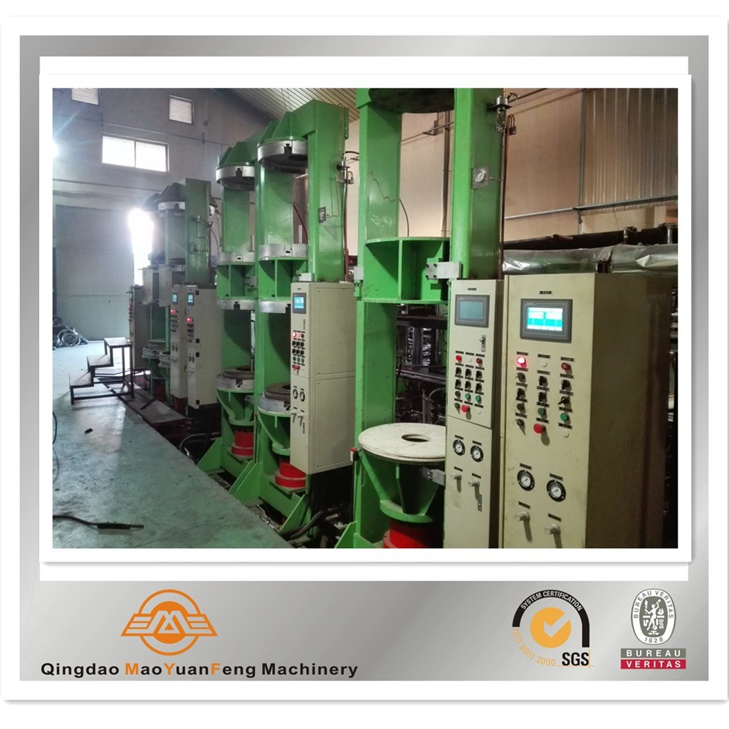 Mc Bc M/C B/C Motorcycle Bicycle Rubber Curing Press Machine with ISO