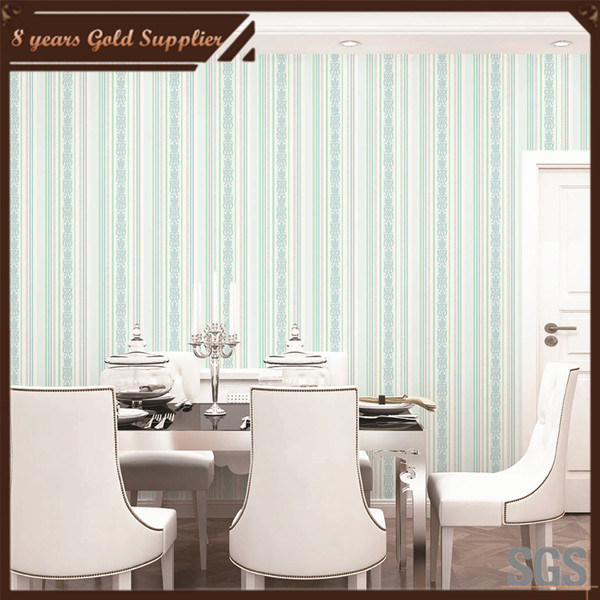 Home Decor PVC Wall Paper for Building Material
