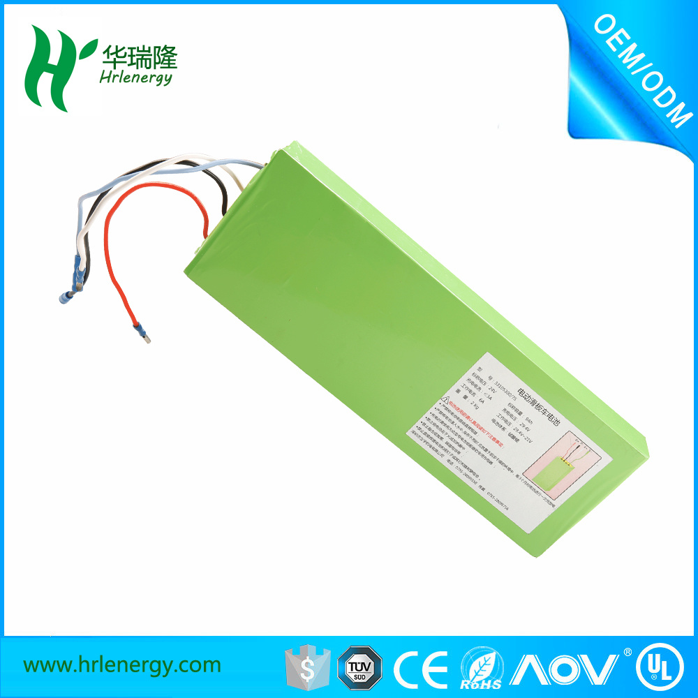 Customized 24V 9ah Battery Pack for Electric Bike Battery with PVC Case