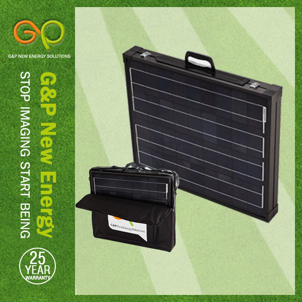 Gp 160W Folding Monocrystalline Solar Panel with Carry Bag
