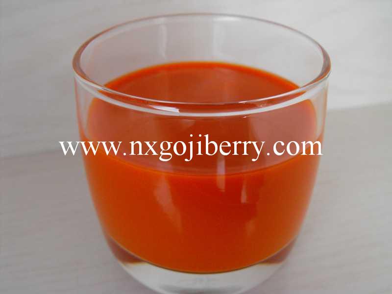 Ningxia Health Food Goji Berry Raw Juice