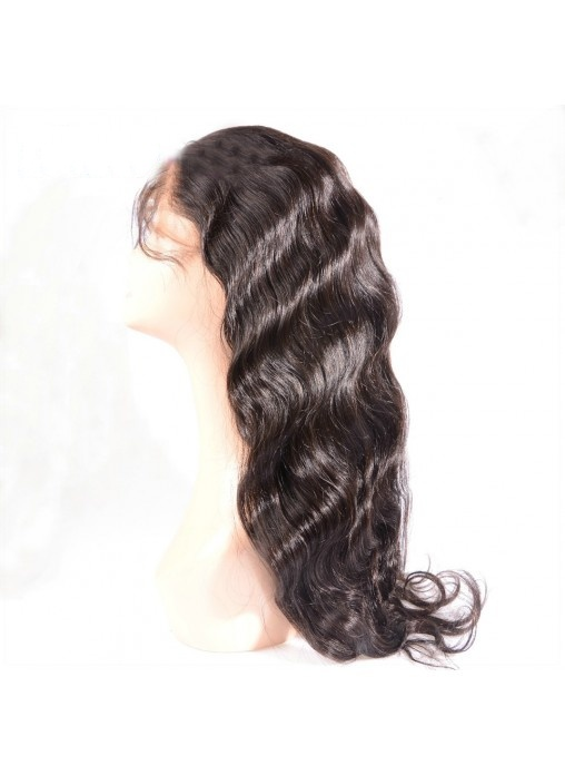 8′′-30′′ Stock Brazilian Virgin Human Hair Lace Wigs Fashion Natural Looking Body Wave Full Lace Wig with Baby Hair