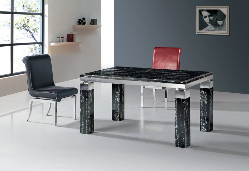 Dining Table Design DTM 729 China Marble Top Dining Table Dining