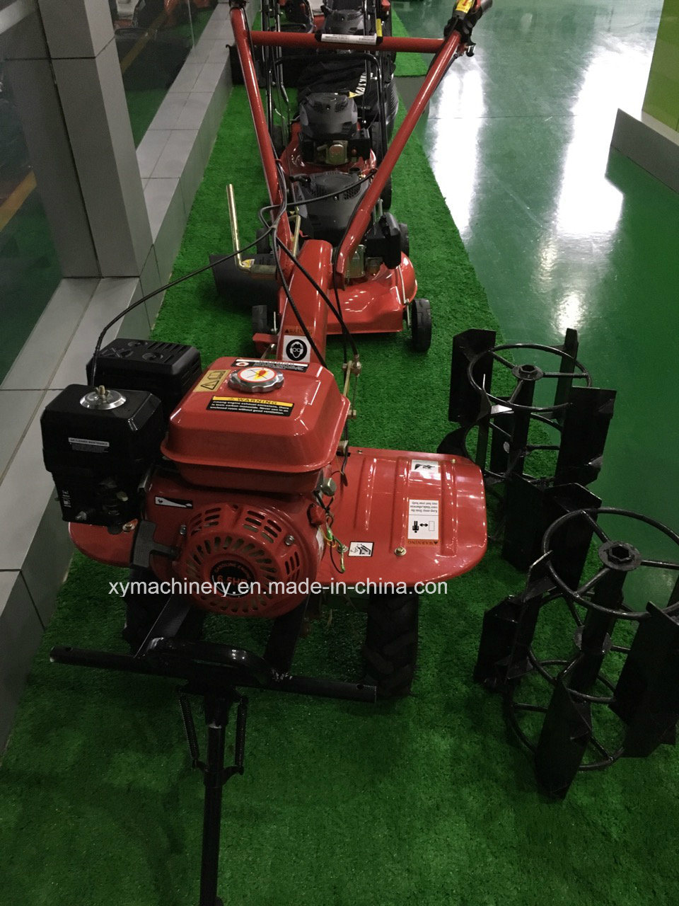 13HP 6.6kw Power Tiller Gasoline Engine Mini Tiller Rotary Tiller