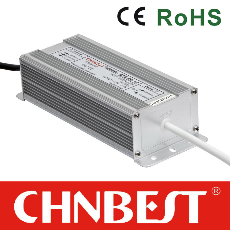 75W 36VDC Waterproof IP67 LED Driver with CE (BFS-75-36)