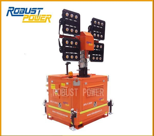 SAA Long-Distance LED Kubota Industrial Light Tower