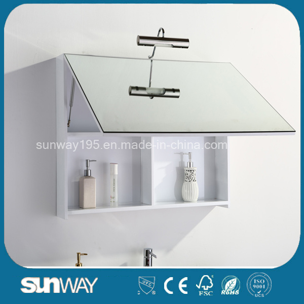 Hot Sale Europe Style Bathroom Vanity with Mirror Cabinet (SW-1307)