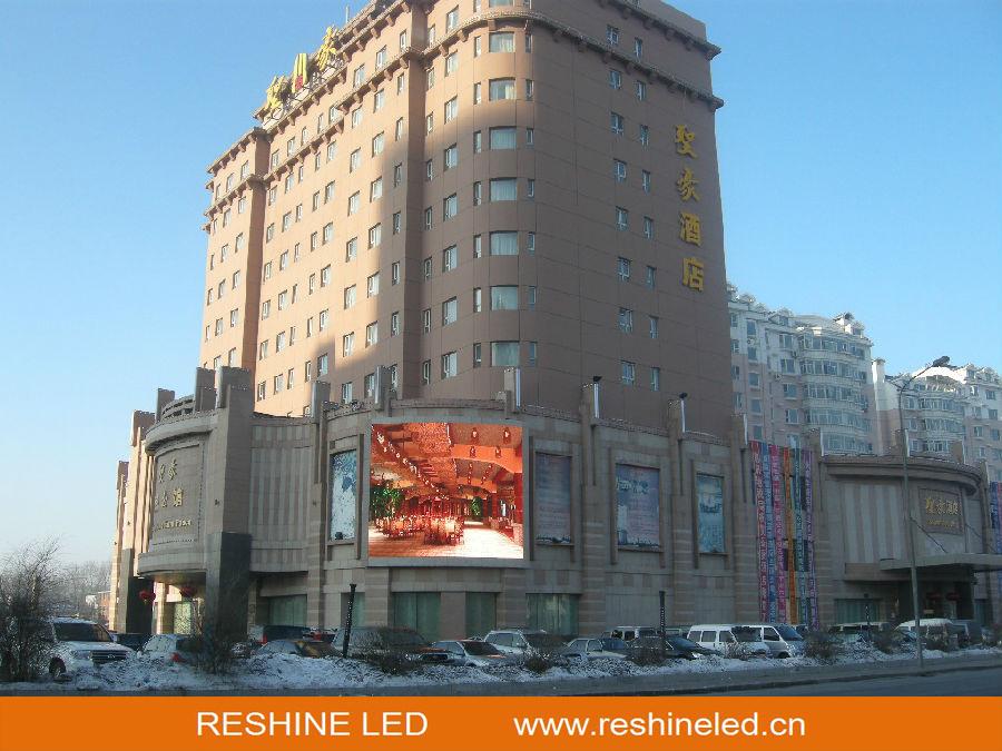 Indoor Outdoor Fixed Install Advertising Rental LED Panel/Video Display Screen/Sign/Wall/Billboard