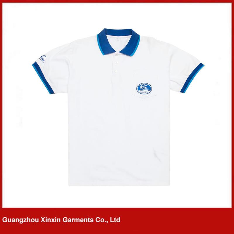 Latest Design Thick Pique Cotton Polo T Shirts Maker (P106)