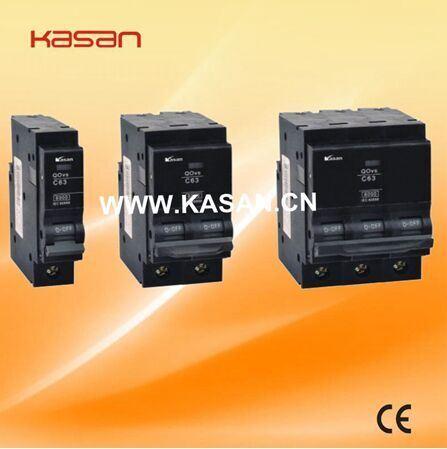 High Breaking Capacity New Type Kqovs-63 Mini Circuit Breaker