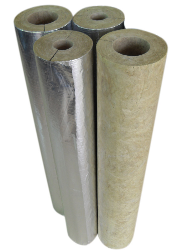 Rockwool Pipe for Sound Insulation Insulation, Fireproof Rockwool