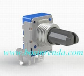 Plastic Shaft Rotary Precision Potentiometer for Audio Equipments- RP11 Series