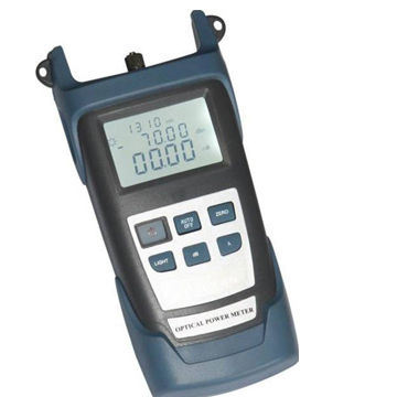 Portable Optical Power Meter for Maintenance of Optical Fiber Network