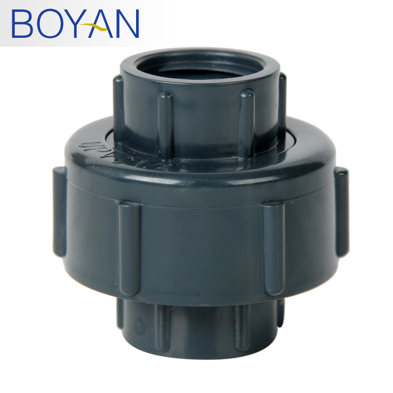 China pvc pipe fitting water supply union