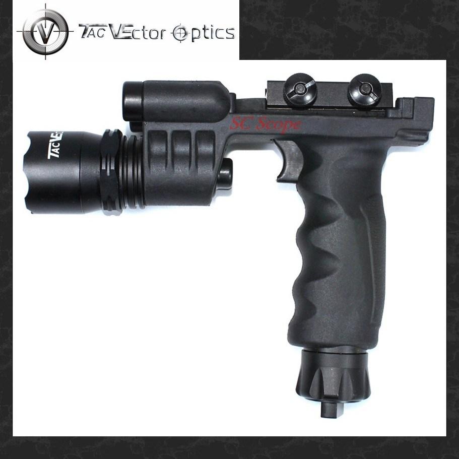 Vector Optics Cobra Tactical Foregrip Flashlight Weapon Light