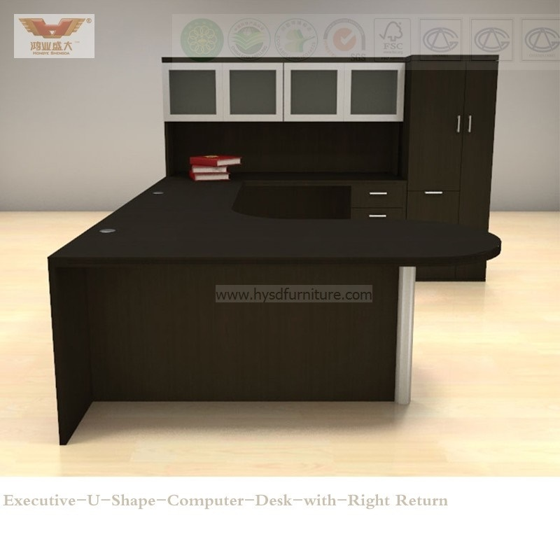New Ikea Modern Design Cherry Wood Surface Computer Desk