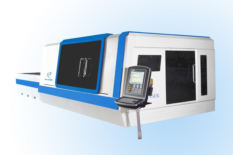 Higher Laser Power Fiber 3000W Metal Sheet Cutting Machine