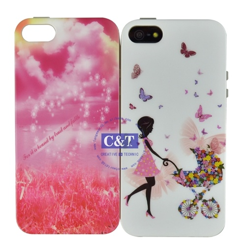 Girl IMD TPU Mobile Phone Case for iPhone 5s