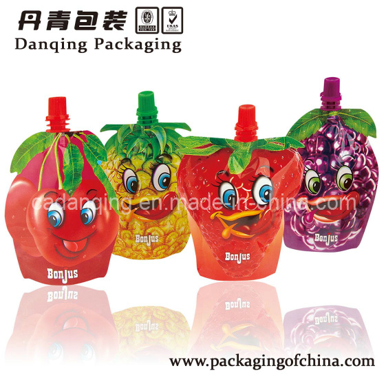 Fruit Shape Stand up Pouch with Spout (DQ)