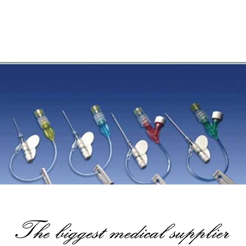 Disposable Medical Sterile IV Cannula Intravenous Catheter with Wing
