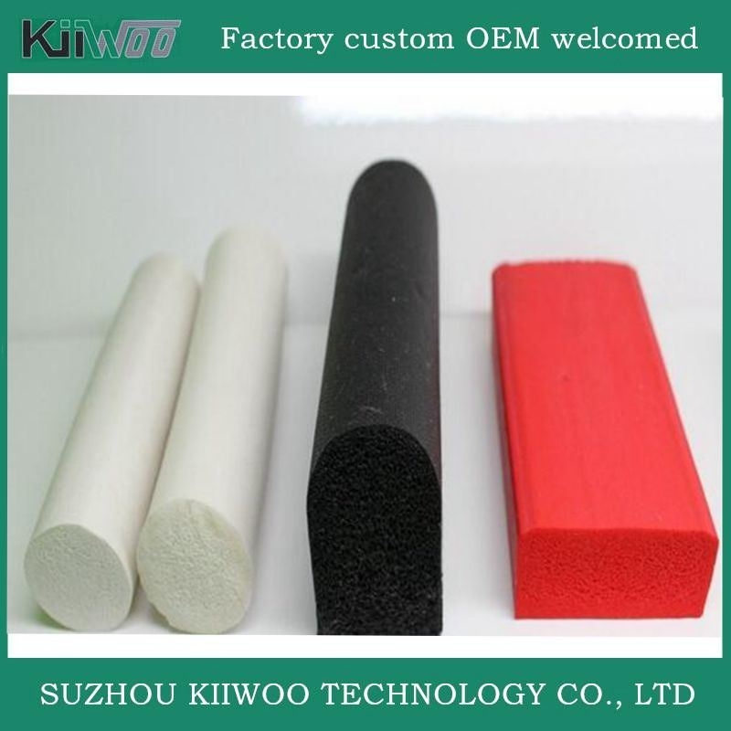 Wholesale Silicone Foam Rubber Sealing Strip